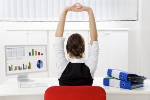 exercise at work image