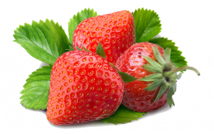 strawberry healthy meal image