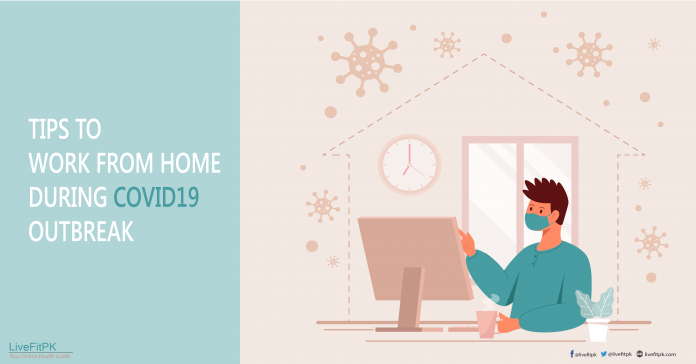 work from home tips banner