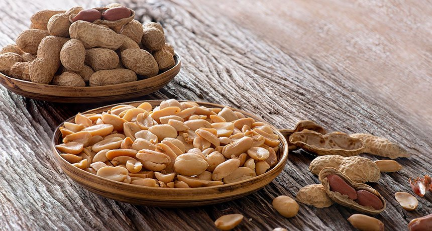 benefits of peanuts: diabetic friendly image