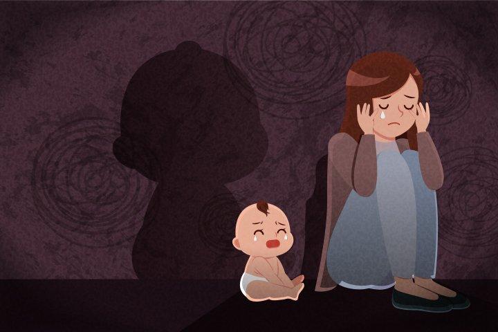 postpartum depression image