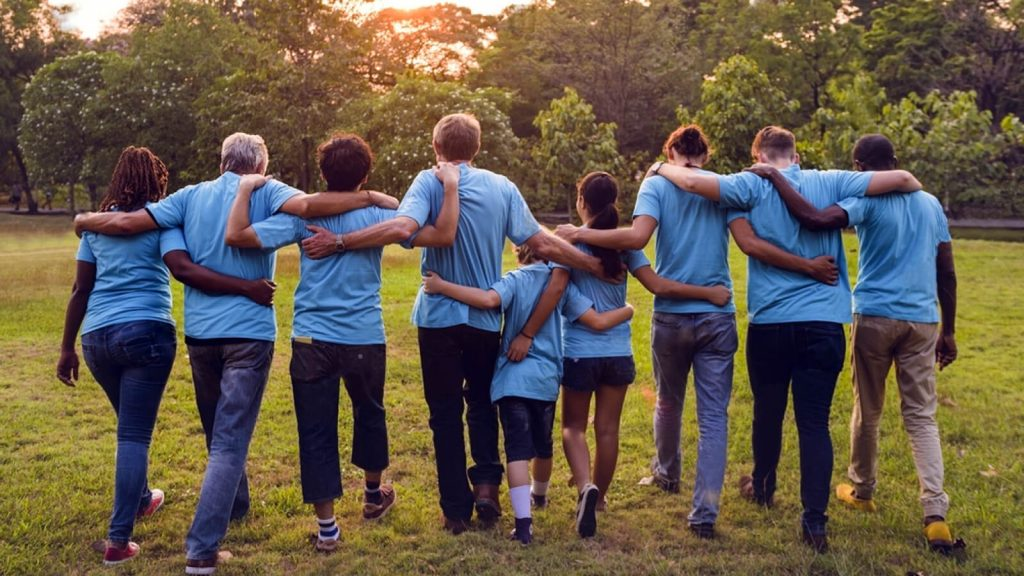 volunteering can overcome depression image