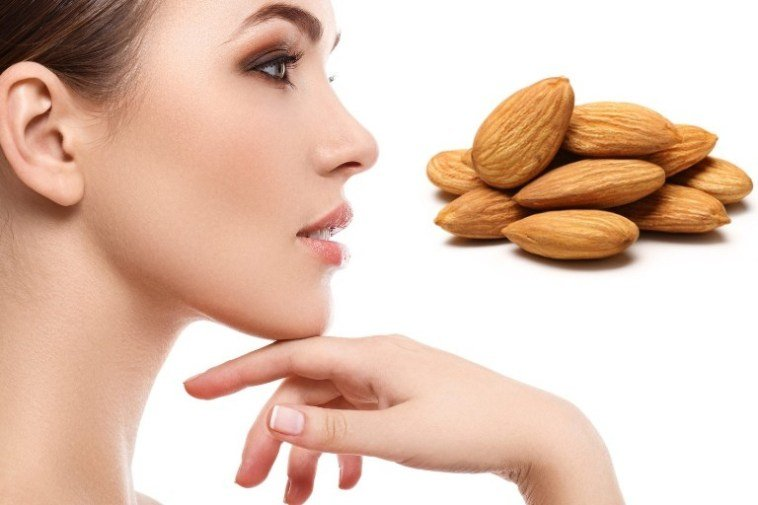 almond goodd for healthy skin image