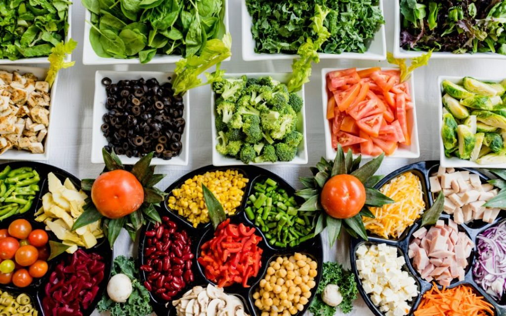 healthy diet to manage stress image