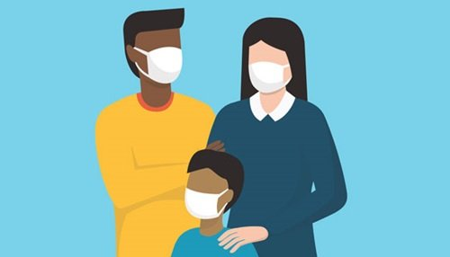 wear mask to stay safe from song image