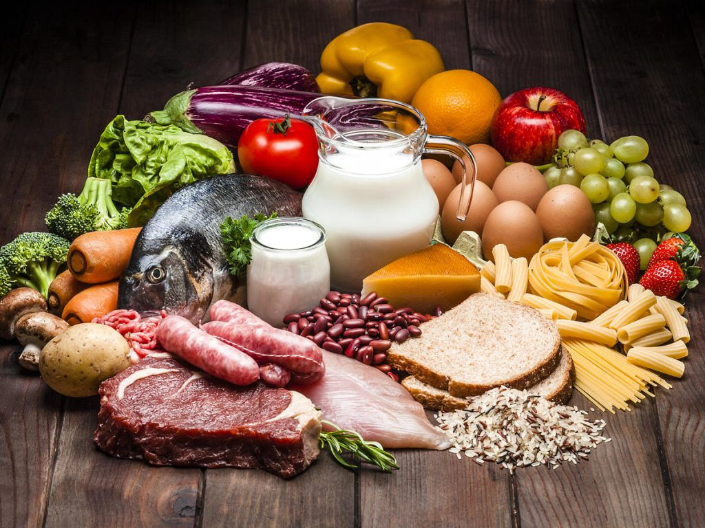 Healthy and balance diet to boost your immune system image