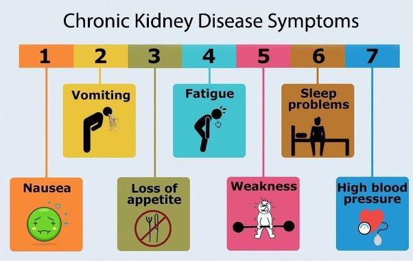 chronic kidney disease symptoms image