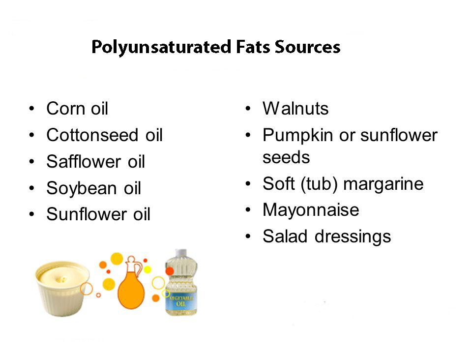 polyunsaturated fatty acids sources image